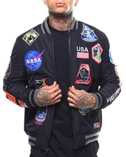 Mens-Winter - MEATBALL SPACE SUIT CLASSIC BOMBER-2289029