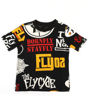 Tops - Born Fly Printed Tee (2T-4T)-2288372