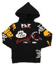 Born Fly - Printed Fleece Hoodie (4-7)-2288481