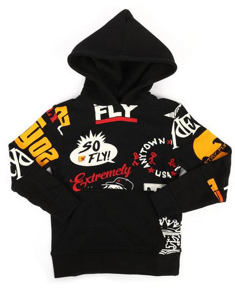 Born Fly - Printed Fleece Hoodie (4-7)