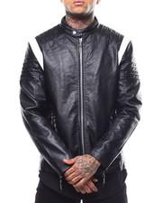 Outerwear - Varsity Moto Pu Jacket-2289110