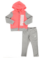 Sizes 2T-4T - Toddler - 2 Piece Hoodie & Legging Set (2T-4T)-2288534