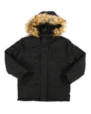 Outerwear - Heavy Parka Jacket w/ Hood (8-20)-2288662