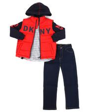 Boys - York Avenue 3Pc Vest Set (4-7)-2288347
