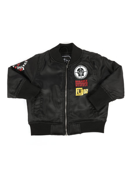 Born Fly - Printed Nylon Jacket (2T-4T)