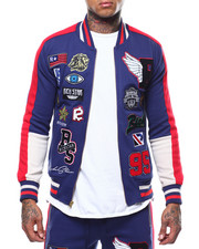 Rich Star - RS PATCH VARSITY Track Jacket-2288543