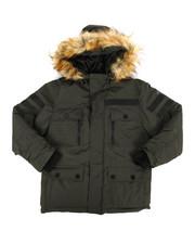 Outerwear - Heavy Parka Jacket w/ Hood (8-20)-2288675
