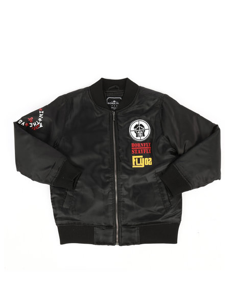 Born Fly - Printed Nylon Jacket (8-20)