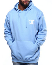 Champion - L/S Logo Fleece Printed Pullover Hoodie (B&T)-2289342