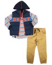 DKNY Jeans - York Avenue 3Pc Vest Set (4-7)-2289192