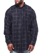 Sean John - L/S Graphic Check Shirt (B&T)-2289357