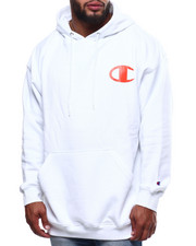 Champion - L/S Logo Fleece Printed Pullover Hoodie (B&T)-2289324