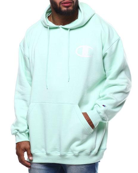 Champion - L/S Logo Fleece Printed Pullover Hoodie (B&T)
