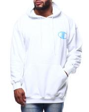 Champion - L/S Logo Fleece Printed Pullover Hoodie (B&T)-2289310