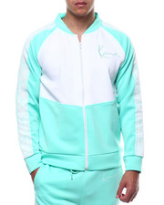 Karl Kani - COLORBLOCK NEOPRENE TRACK JACKET-2289400