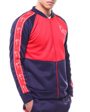 Karl Kani - COLORBLOCK NEOPRENE TRACK JACKET-2289384