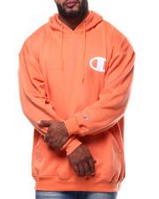 Champion - L/S Logo Fleece Printed Pullover Hoodie (B&T)-2289332