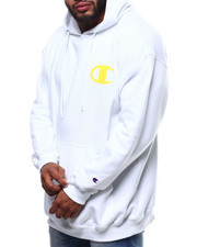 Champion - L/S Logo Fleece Printed Pullover Hoodie (B&T)-2289315