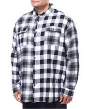 Sean John - L/S Colorblocked Check Shirt (B&T)-2289337
