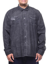 Shirts - L/S Woven Tee (B&T)-2289611
