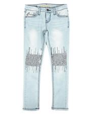 Girls - Skinny Jeans W/ Sequin EMB DTLS (7-16)-2289831