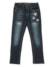 Girls - Ankle Skinny W/ Released Hem Jeans (7-16)-2289844
