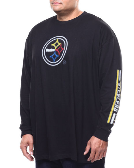 low priced d5177 4f169 Buy Steelers L/S 2 Hit Tee (B&T) Men's Shirts from NBA, MLB ...