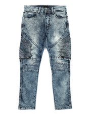 Sizes 8-20 - Big Kids - Moto Denim Jeans (8-20)-2284179