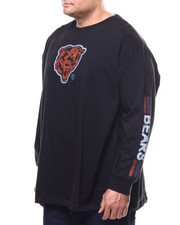 NBA, MLB, NFL Gear - Bears L/S 2 Hit Tee (B&T)-2289588