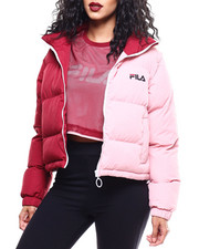 Fila - Martina Snap Off Sleeve Crop Puffer-2289855