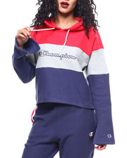 Champion - Champion RW Cropped Colorblock Hood-2288885