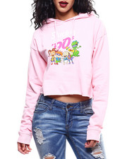 Fashion Lab - Stuck in 90s Rugrats Crop Hoodie-2289870
