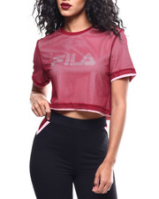Athleisure for Women - Alberta Crop Tee-2289860