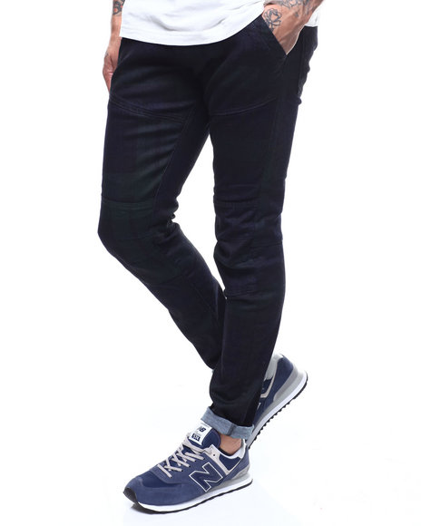 G-STAR - Rackam dc skinny Blackwatch Check Pant
