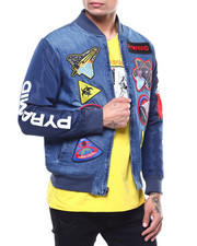 Denim Jackets - BP SPACE DENIM JACKET-2289024