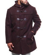 Outerwear - Long Toggel Wool Hooded Coat (B&T)-2290267