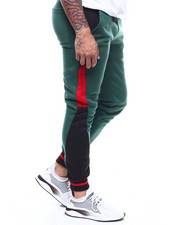 Sweatpants - Panel colorblock Jogger Pant-2290170