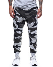Global Movement Mens - Camo 5622 straight tapered Sweatpant-2289698