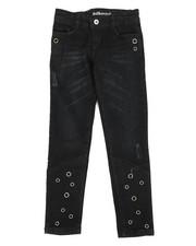 Girls - Skinny Jeans W/ Grommet Detail (7-16)-2290107