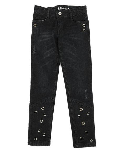 Dollhouse - Skinny Jeans W/ Grommet Detail (7-16)