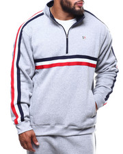 Sweatshirts & Sweaters - Fleece Mock Neck Pullover (B&T)-2289228