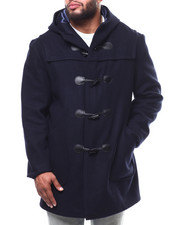 Outerwear - Long Toggel Wool Hooded Coat (B&T)-2290257