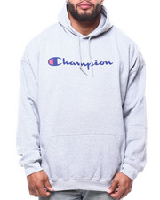 Champion - P/O Scripted Printed Logo Hoodie (B&T)-2290313