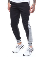 Sweatpants - Panel colorblock Jogger Pant-2290185