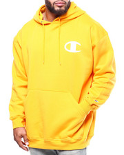 Champion - L/S Logo Fleece Printed Pullover Hoodie (B&T)-2290347