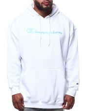 Champion - L/S Script Logo Fleece Printed Pullover Hoodie (B&T)-2290358