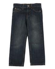 Jeans - Wrangler Regular Fit Jeans (4-7)-2290130