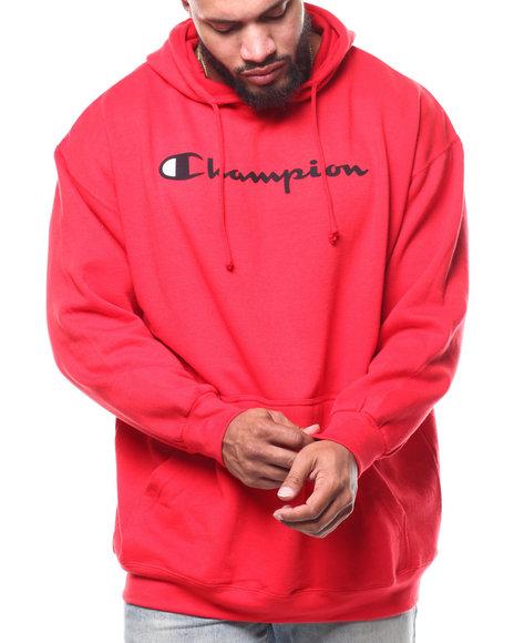 Champion - P/O Scripted Printed Logo Hoodie (B&T)