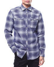 G-STAR - 3301 slim Bevis Check  L/s  shirt-2290227