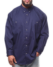 Big & Tall Faves - L/S Wrinkle Resistant Solid Shirt (B/T)-2290221